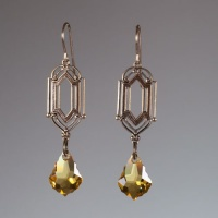 Golden Deco -Earrings