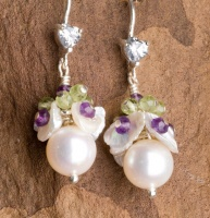 Pearl Posy Earrings